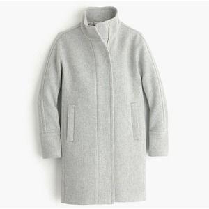 J Crew Stadium Cloth Cocoon Wool Coat Jacket
